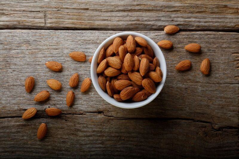 Almonds Natural Whole Raw - 1 lb.