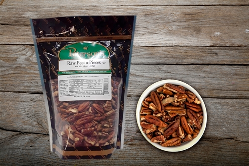 Raw Pecan Pieces - 1 lb.