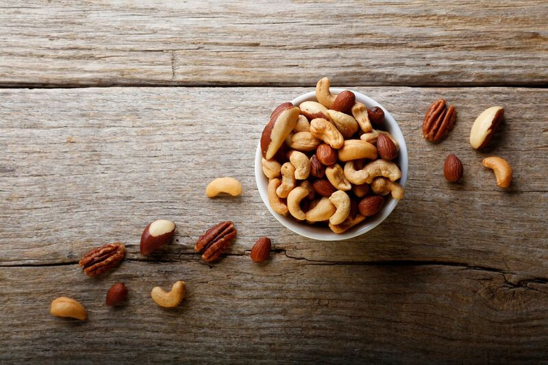 Deluxe Mixed Nuts Oil Roasted No Salt - 1 lb