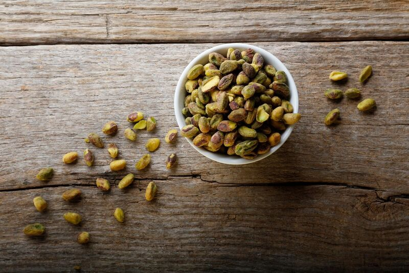 Raw Pistachio Halves & Pieces - 1 lb.