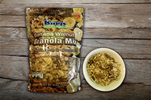 Banana Walnut Granola - 16 oz. bag