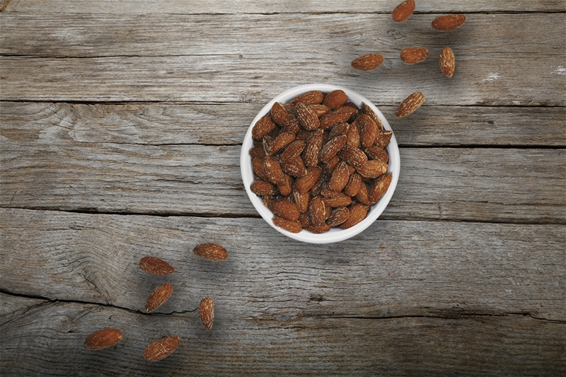 Smoked Almonds - 1 lb.